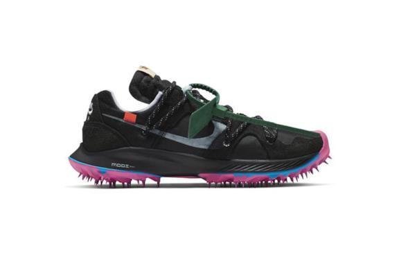 Off-White x Nike Zoom Terra Kiger 5 Sneaker black-pink