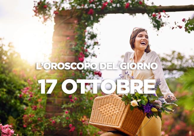 L'oroscopo del giorno di Mercoledì 17 Ottobre