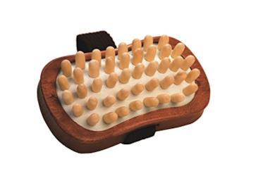 Spazzola in legno anticellulite