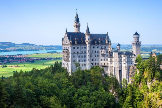 Germania, veduta del Castello