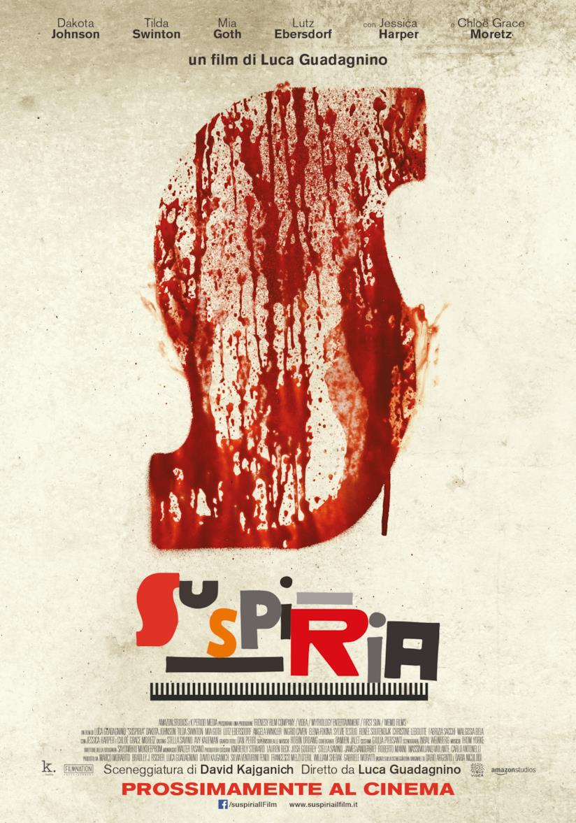 Il poster di Suspiria