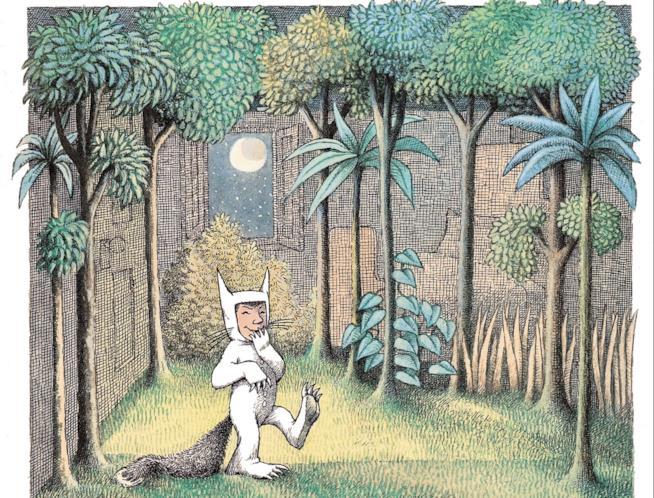 Un'illustrazione di Sendak