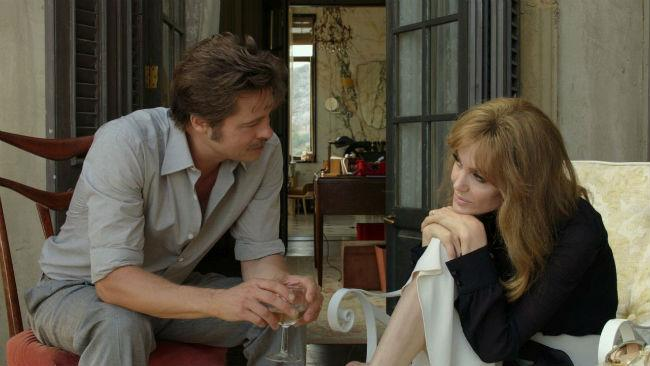 Brad Pitt e Angelina Jolie nel film By The Sea
