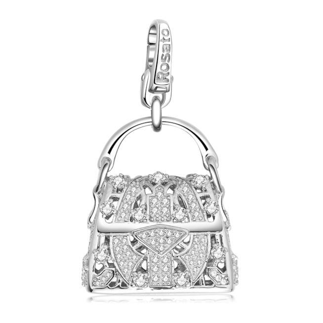 Charm borsetta di Rosato per regali di Natale