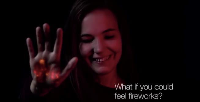 I fuochi d'artificio per non vedenti
