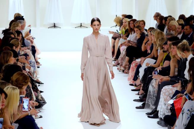 Sfilata Dior Haute Couture 2018
