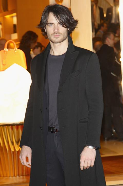 Giulio Berruti alla Maison Louis Vuitton