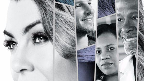 I personaggi principali di Grey's Anatomy 14 nel poster ufficiale