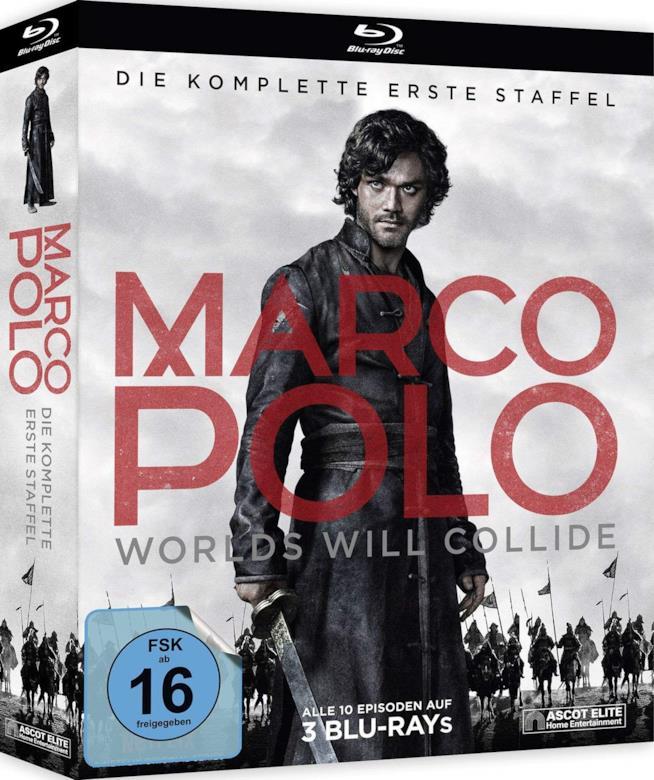 Cofanetto Blu-ray di Marco Polo - Season 1