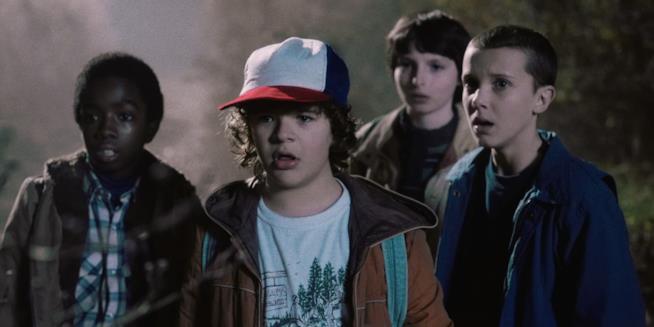 Una immagine tratta dalla serie TV Netflix Stranger Things