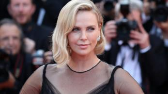 Charlize Theron a Cannes 70
