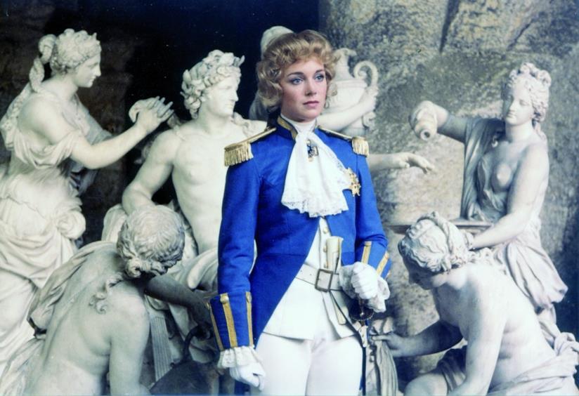 Un scena del film di Lady Oscar