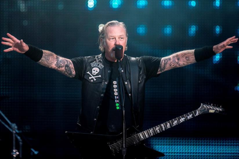 James Hetfield dal vivo