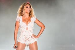 Beyoncé sul palco a Rock in Rio 2013