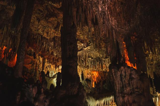 Spettacoli nelle cave di Castellana a Ferragosto