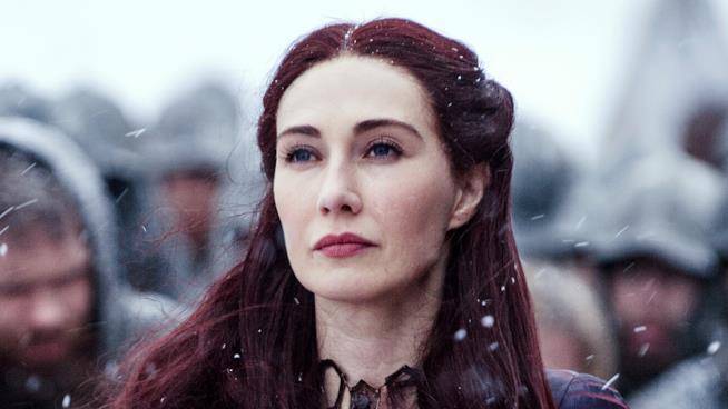 Melisandre, strega di Game of Thrones