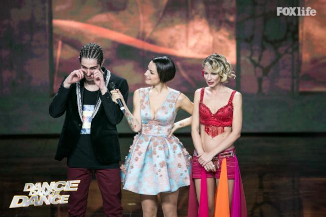 Roberta Ruiu e Tommaso Zorzi durante la seconda puntata di Dance Dance Dance