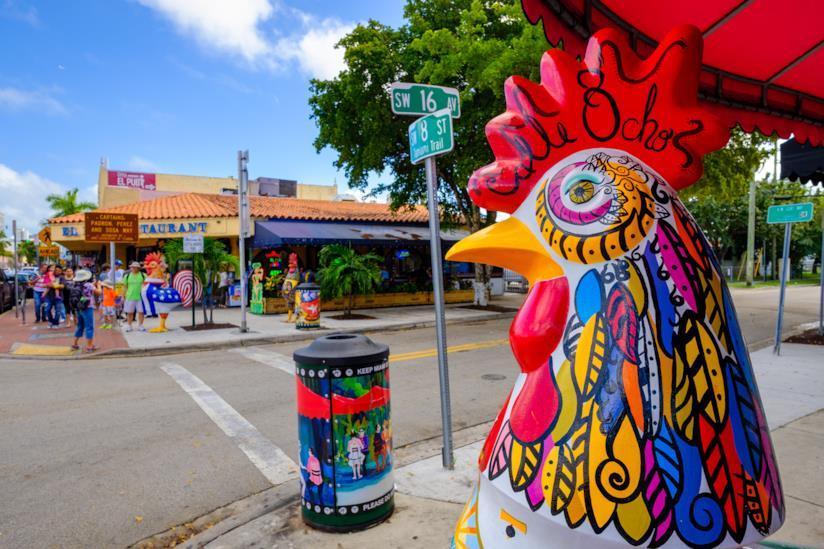 Scorcio di Little Havana a Miami