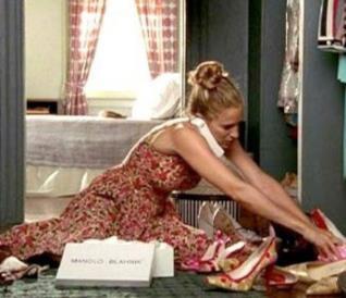 La collezione di scarpe di Carrie Bradshaw