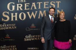 Hugh Jackman e la moglie Deborra Lee  Furness