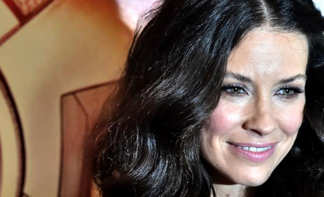 L'attrice Evangeline Lilly a Roma