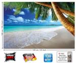 Poster con decorazione caraibica