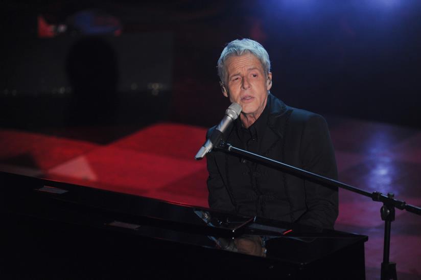 Claudio Baglioni a Sanremo 2018