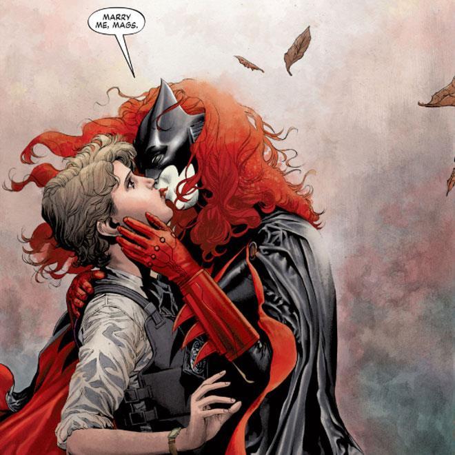 Batwoman e Maggie Sawyer