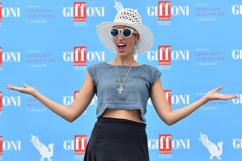 La cantante Nina Zilli ospite del Giffoni Film Festival 2015