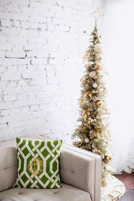 Albero natalizio slim