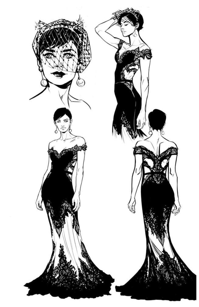 Il vestito da sposa di Catwoman