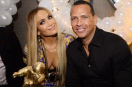 Jennifer Lopez e il compagno Alex Rodriguez