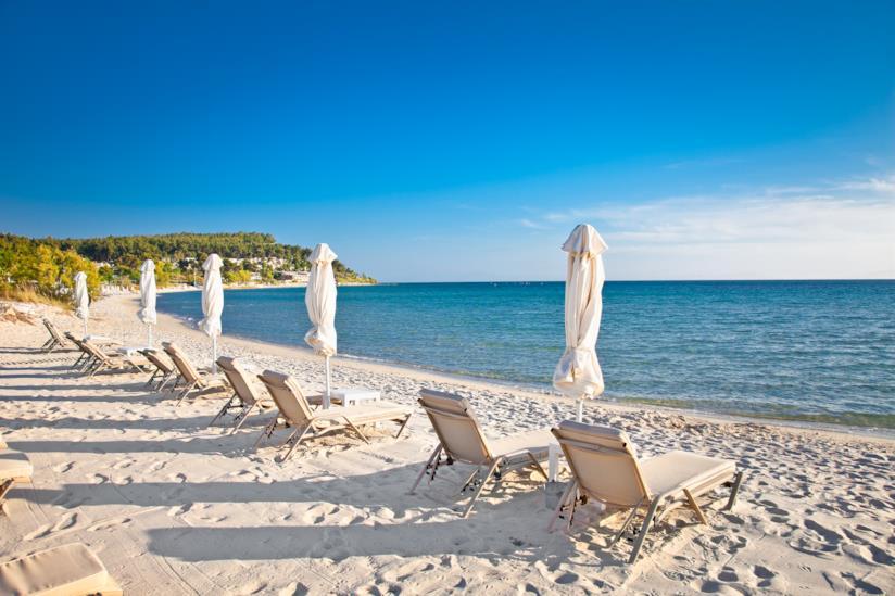 Spiaggia a Cassandra