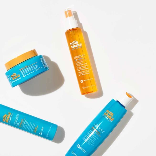 I prodotti per proteggere i capelli dal sole di Milk Shake
