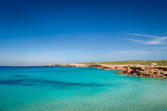 Formentera le spiagge più belle: Cala Saona