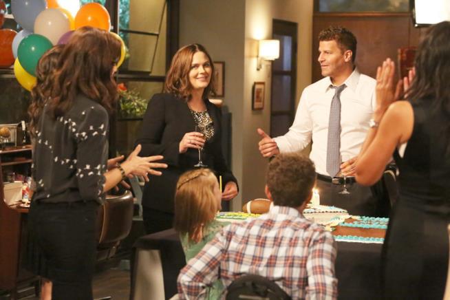 Bones: una scena dal secondo episodio della dodicesima stagione