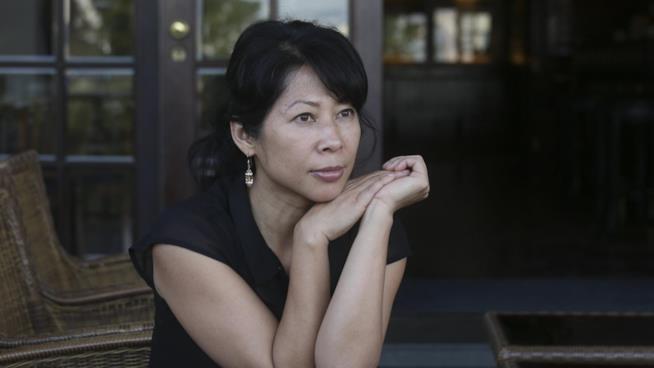 La scrittrice Loung Ung autrice de Il Lungo Nastro Rosa.
