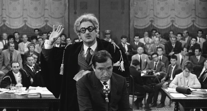 Ugo Tognazzi e Vittorio Gassman ne I Mostri