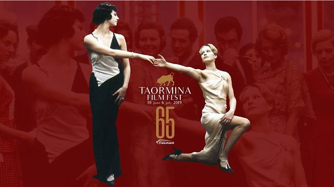 Al via la sessantacinquesima edizione del Taormina FilmFest dal 30 giugno al 6 luglio 2019