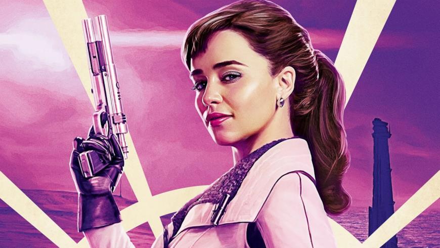 Emilia Clarke è Qi'Ra in Solo: A Star Wars Story