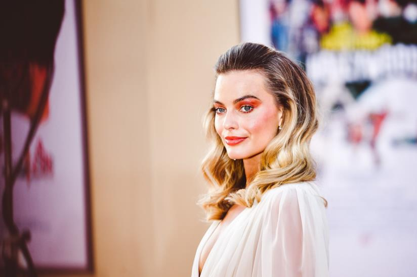 Margot Robbie alla premiére di Once Upon a Time in Hollywood