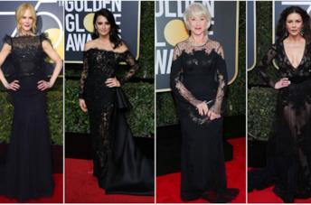 La gallery dei look dei Golden Globes 2018