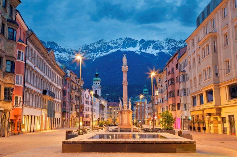 Maria Theresien Strasse, la via più famosa di Innsbruck