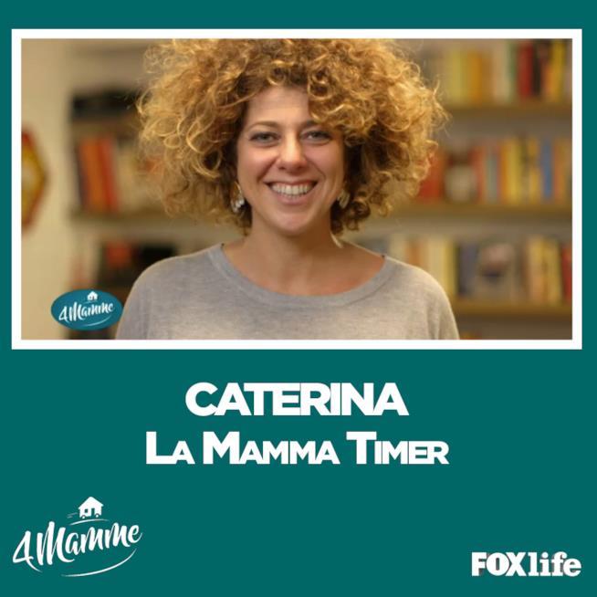 Caterina protagonista della prima puntata di Quattro Mamme 2