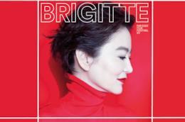 Un primo piano di Brigitte Lin