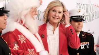 Olivia Newton-John, foto dall'evento Hollywood Christmas Parade