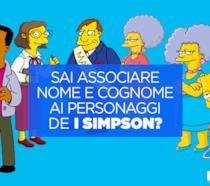 Sai associare nome e cognome ai personaggi de I Simpson?