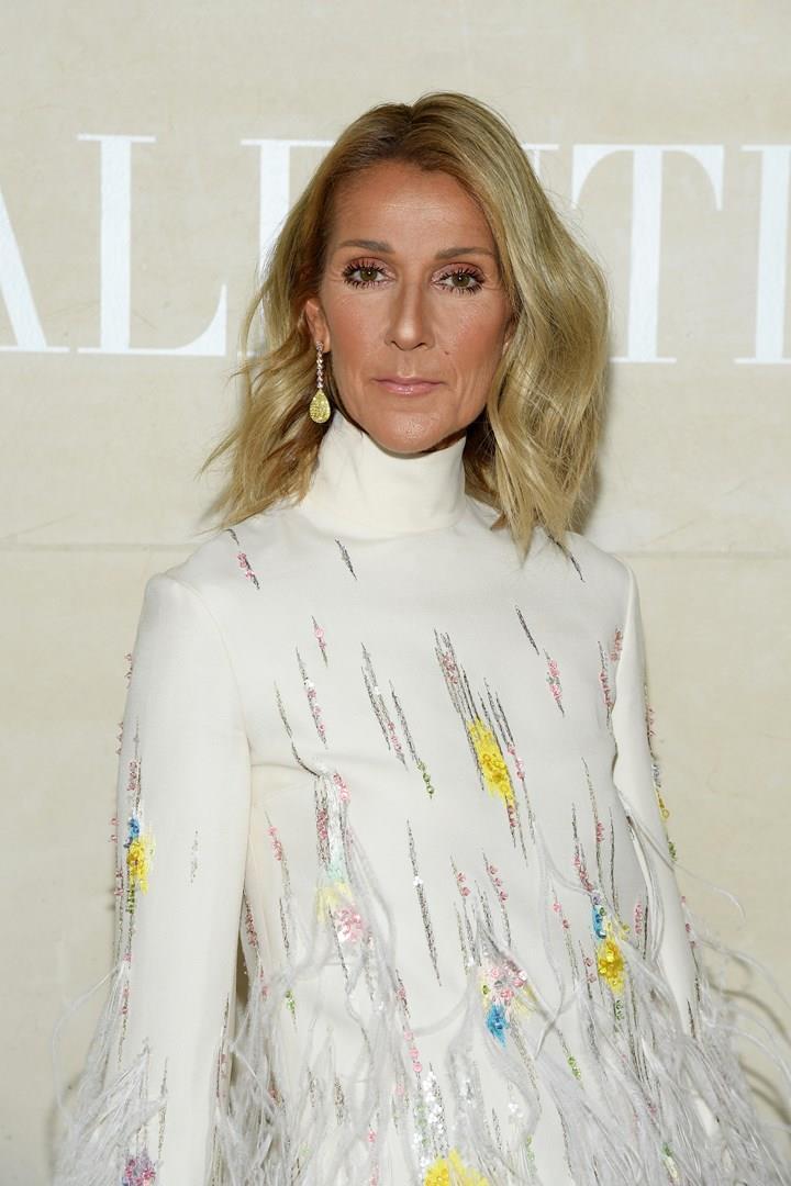 Céline Dion alle sfilate di Parigi