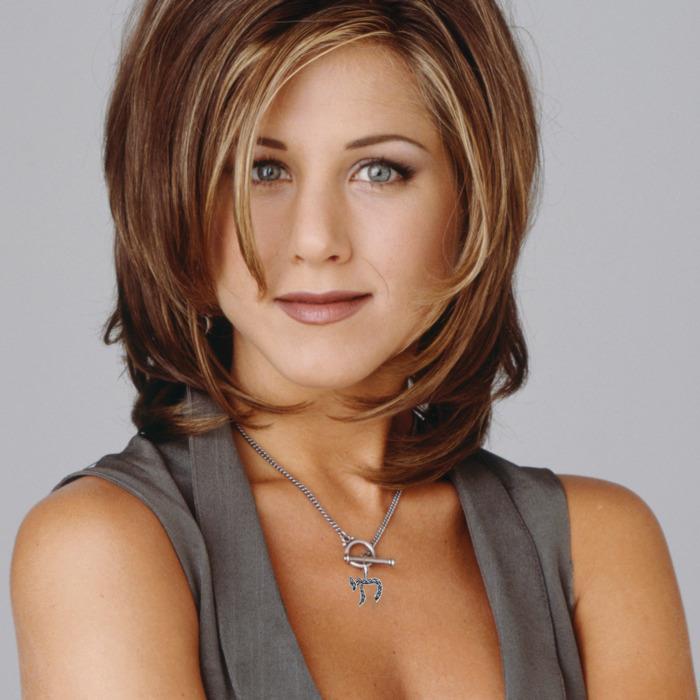 Jennifer Aniston in primo piano