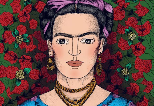 Frida Kahlo in versione illustrata